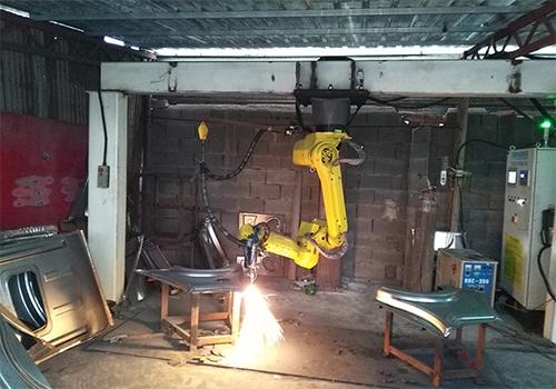 3D laser robot