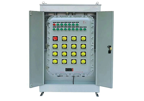 Explosion-proof operating cabinet